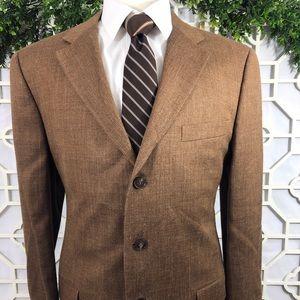 Ermenegildo Zegna Wool Silk Linen Sport Coat 44L